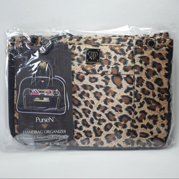 82667b56a377 PurseN Handbag Organizer Leopard
